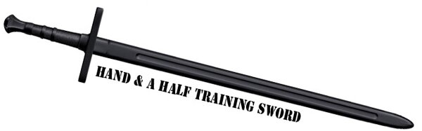 Boken Cold Steel Hand & A Half Training Sword