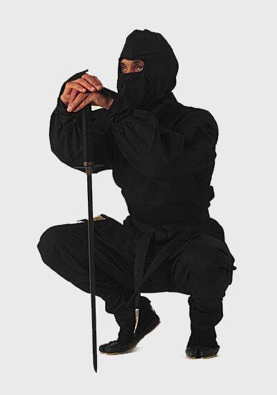 Czarny Strój Ninja