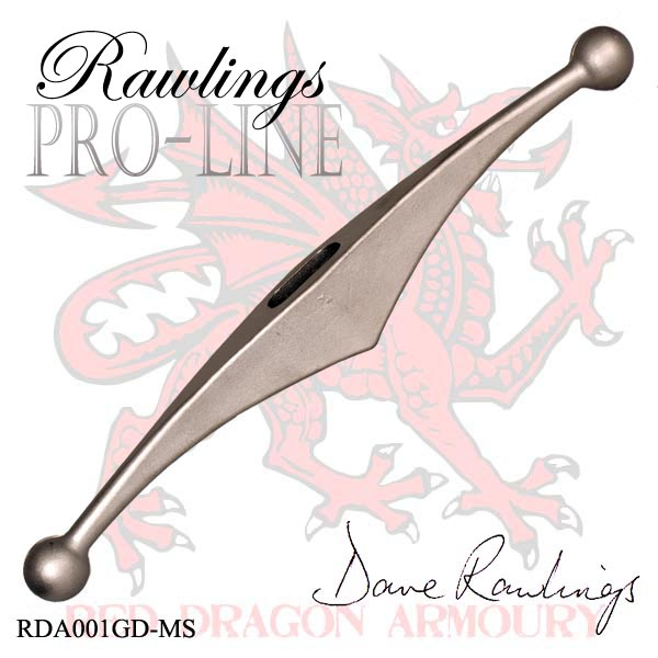 Jelec Stalowy Rawlings Pro-Line Stainless Steel Longsword Guard - Matt