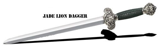 Miecz Cold Steel Jade Lion Dagger