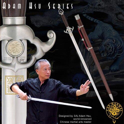 Miecz Hanwei Adam Hsu Jian -Wood Handle 32