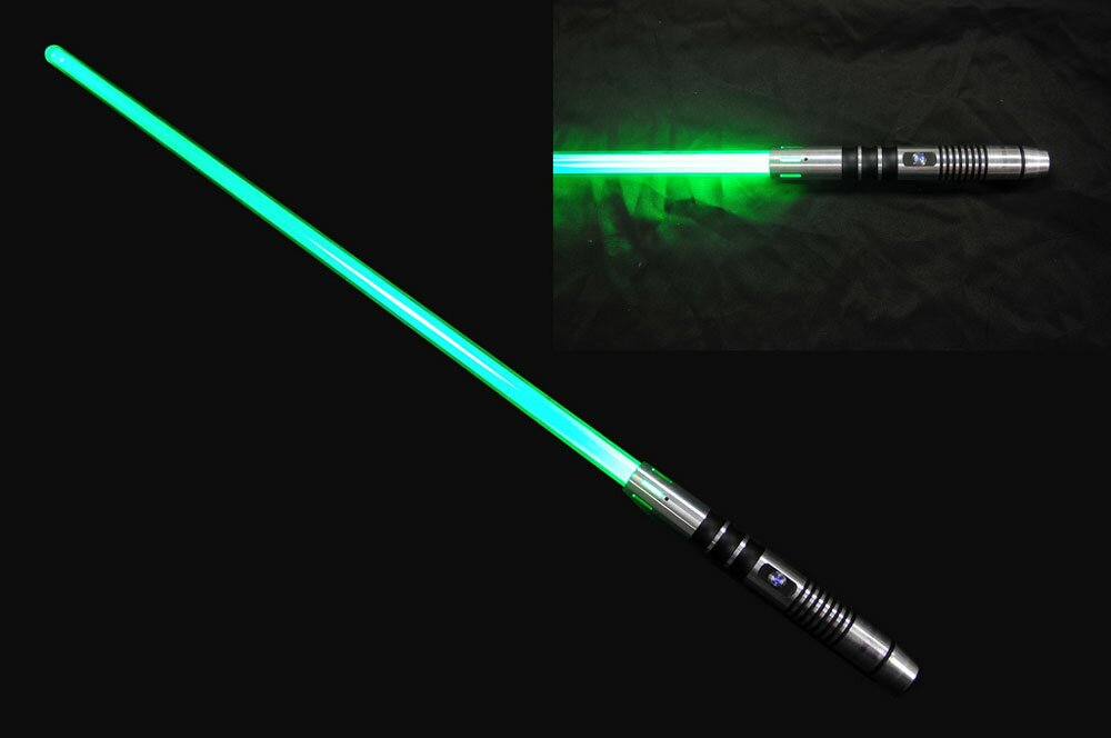 Miecz świetlny Green Lightsaber - No Sound Version