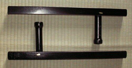 Tonfa kwadratowa czarna